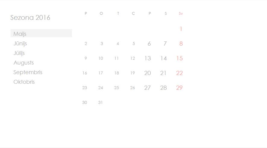 LKFA kalendārs